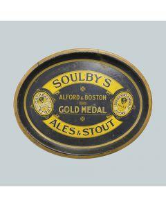 Soulby, Sons & Winch Ltd Oval Black Backed Steel