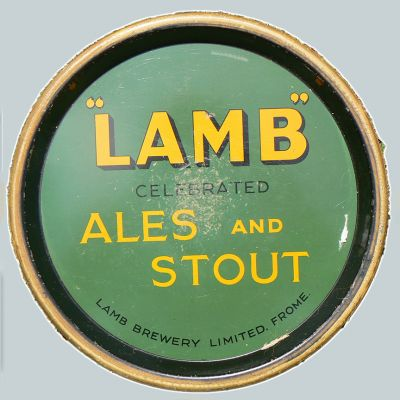 Lamb Brewery Co Ltd Round Black Backed Steel