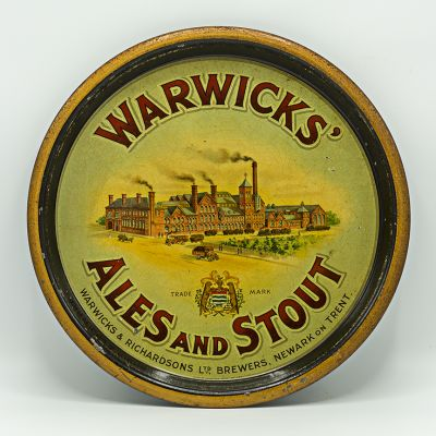 Warwicks & Richardsons Ltd Round Black Backed Steel