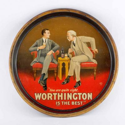Worthington & Co Ltd Round Black Backed Steel