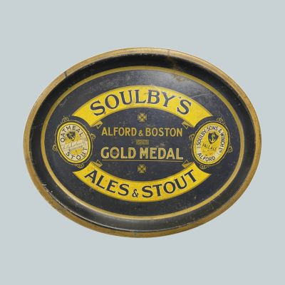 Soulby, Sons & Winch Ltd Oval Black Backed Steel