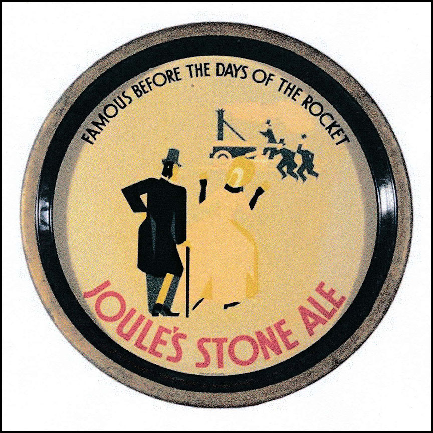 Joules Stone Ale Tray - A Missing Gem From The 1920s