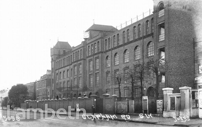 The Printing Works 139-143 Clapham Road 1914