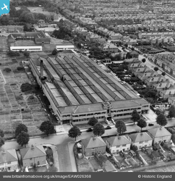 Aerial View Of The Eastleigh Factory